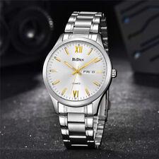 BIDEN 3ATM Water Resistant Calendar Scratch Proof Mineral Glass Watch for Men