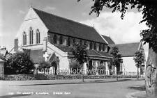 """Photo 1920s Herne Bay UK """"Saint Johns Church"""""""