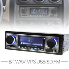 Bluetooth Vintage Car Radio MP3 Player Stereo USB AUX Classic Car Stereo VO