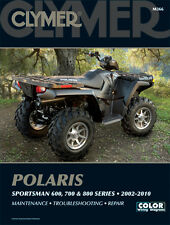 CLYMER Repair Manual for Polaris Sportsman 600, 700 and 800 Series 2002-2010