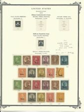 United States Collection 1929, #658-679, Kansas & Nebraska Overprints
