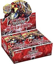 Yugioh SECRETS OF ETERNITY English Booster Box  24ct Packs 1st Edition