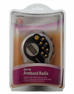 AM/FM Armband Radio with Adjustable Band, New, Sealed, Radio Shack 12-820