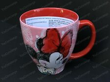 DISNEY STORE Mug 2017 PATTERN Collection MINNIE MOUSE Small CERAMIC Cup 8 oz NEW