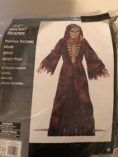 Halloween Costume Boy's Ancient Reaper Medium, or Large New