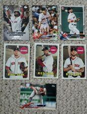 2018 Boston Red Sox Lot Topps Update Bowman Heritage Ortiz Benintendi Kinbrel