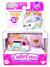 Shopkins Cutie Cars QT3-12 Pretzel Express Series 3 New