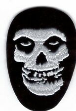 Misfits Skull Embroidered Patch !