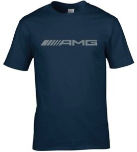 Mercedes AMG Car Logo Premium cotton T-shirt