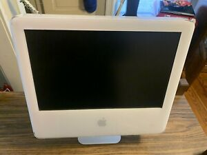 "Apple iMac G5 1.8 Computer And Monitor W 17"" Screen: Model #A1058-TESTED/WORKING"