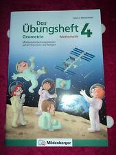 Das Übungsheft Mathematik 4*Geometrie*Grundschule*Mathe*Arbeitsheft*Lösung*neu