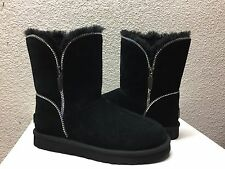 UGG CLASSIC SHORT FLORENCE BLACK BOOT US 8 / EU 39 / UK 6.5 - NEW