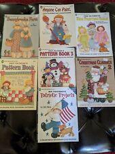 7 Pat Olson Decorative Painting Pattern Book Lot