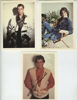 1978 JOHN TRAVOLTA AUTOGRAPHS VINTAGE SIGNED POSTCARDS VERY EARLY RARE