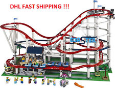 2019 BEST GIFT Custom Creator Roller Coaster Compitible Lego 10261 + Manual Book