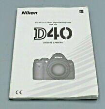 Nikon D40 User Manual