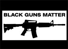 Black Guns Matter Car Window Stickers Decals Republican Trump President