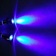 RC LED Night Headlamps Headlights 2x5mm Blue LED Light For 1:10 Model Drift Car