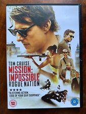 Mission Impossible Rogue Nation DVD 2015 Tom Cruise Action Movie 5