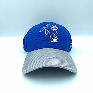 New Era 39 Thirty NFL 16 On Field Indianapolis Colts Bucking Horse Logo Hat L/XL