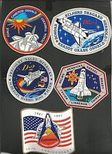 NASA SPACE SHUTTLE  DECAL STICKER  LOT OF 21