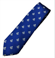 MASONIC TIE ROYAL BLUE COMPASS LODGE SUIT GIFT GIFT FREE MASON