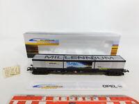 CI827-0,5# Roco H0/DC 9121842 Güterwagen Opel Millennium Express DB NEM NEUW+OVP