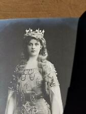 2 Different Vintage Photo Postcards Opera Singer Geraldine Farrar Berlin 1905