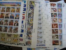 lot of US Stamp MINT Full Sheets Collection + Legends of the West - Face $120+