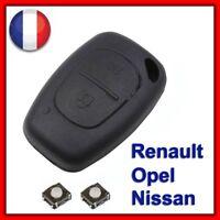 Coque Clé Pour Renault Trafic Kangoo Opel Master Vivaro Nissan Primastar +Switch