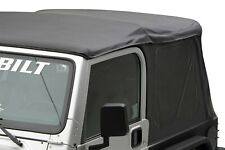 1997-2006 Jeep Wrangler Soft Top Canvas and Rear Tinted Windows in Black SALE!