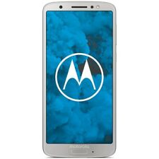 Motorola Moto G6 XT1925 32GB silber/silver Android Smartphone Handy LTE/4G