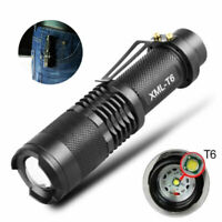 50000lm T6 LED Tactical Flashlight Torch 5 modes Zoom 18650 Lamp Lantern