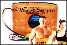 Magnetic Sauna Belt Fat Burner Vibrate Massager Slim Waist Belly Weight Loss Kit