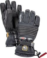 Hestra 173800 Unisex Adults Waterproof Ski Gloves Winter Sport Black Size 9