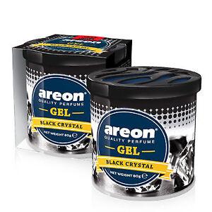 1 x Air Freshener Car Scent Areon Gel Black Crystal Perfume Car Home Office