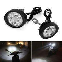 2PCS  Motorcycle Spot Fog Light Headlight Waterproof 6 LED Front Head Lamp klm