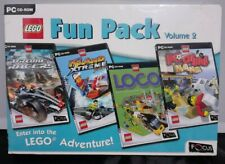 LEGO Fun Pack Vol 2 PC Drome Racers/Island Extreme/Loco/ Football Mania