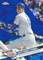 2017 Topps Chrome Sapphire Edition #204 Anthony Rizzo LL Chicago Cubs