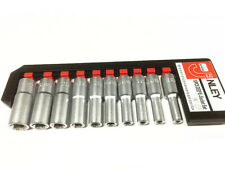 Deep Star Socket Set 10pcs Torx Torq Torque Bits External Female E8 to E24