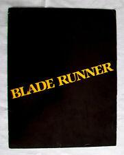 BLADE RUNNER Advertising Promo Folder Harrison Ford Ridley Scott Philip K Dick