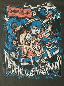 Vintage The Devil Wears Prada Rock T-Shirt  Metalcore Metal Christian XLarge