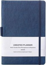 Premium Undated Weekly Amp Monthly Planner
