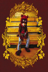 20A623 Kanye West The College Dropout New Custom Art Poster Silk Deco