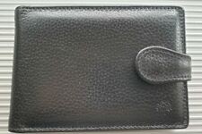 Mulberry Filofax organiser / diary / address book. Unusual design, black leather
