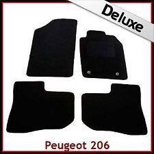 PEUGEOT 206 CC 1998 - 2007 2008 2009 2010 2-Clip LUSSO SU MISURA tappetini per AUTO 1300g