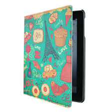 New Designer iHappy Leather Stand Case Cover For iPAD 2 3 4 --Green
