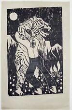 Richard Bosman : Adversaries, 1982. Signed, Numbered Fine Art Print