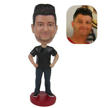 Personalized Birthday Gift Male Bobblehead