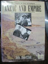 Australian 1915 Anzac & Empire Tragedy Glory of Gallipoli Robertson Book
